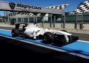 driving course RACING F1 Williams FW33 - 20 min E ( X2) + F1 towers - Magny -Cours Grand Prix Circuit