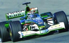 Formula 1 driving: silver